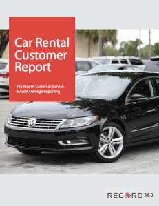 Car Rental Customer Report