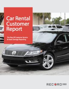 Car Rental Customer Report