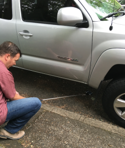 Selfie Stick Vehicle Condition Review Undercarriage