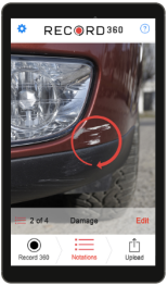Point & Shoot Vehicle Damage Condition Reports