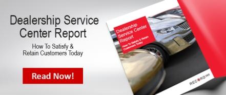 Dealership Service Center Report