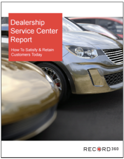 Dealership Service Center Report